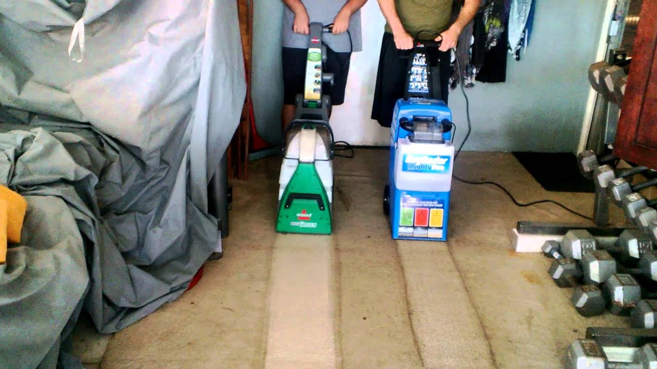 Rug Doctor vs. Bissell Big Green Deep Cleaning Machine ...
