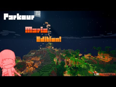 Minecraft: Epic Jump Map MARIO EDITION Part 5!