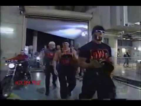 Hulk Hogan NWO with Hells Angels
