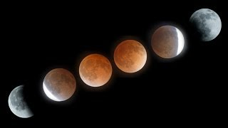 Lunar Eclipse April 15, 2014 Blood Moon Time-Lapse