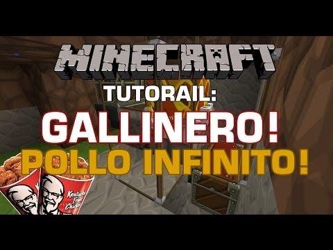 MineCraft 1.7.5 Matadero de Gallinas Automatico