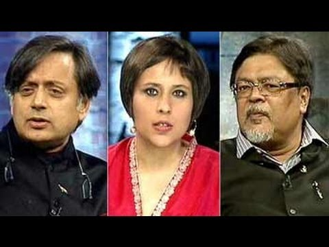 Alumni Shashi Tharoor, Chandan Mitra face new voters at old college