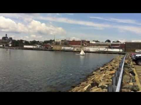 Jodrey fish pier gloucester ma youtube for Gloucester ma fishing