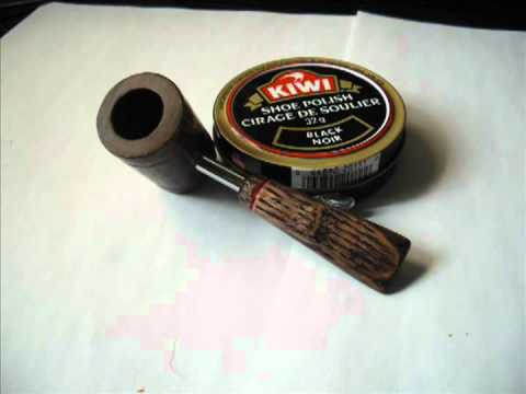 how to make a wooden smoking pipe