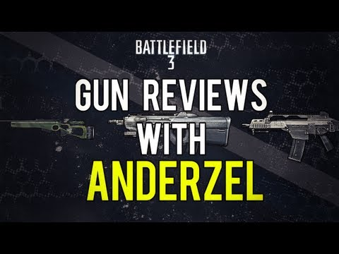 Battlefield 3 Online Gameplay - SVD - Weapon Review LIVE COM Part 22