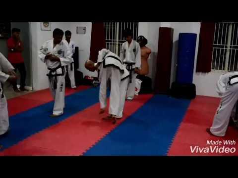 Taekwondo (ITF) knife self defense