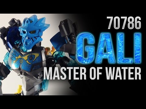 BIONICLE 2015 Set Preview: 70786 Gali - Master of Water (Comic Con Version)