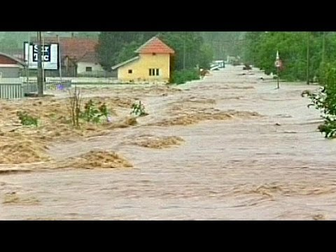 Deadly floods hit eastern Europe