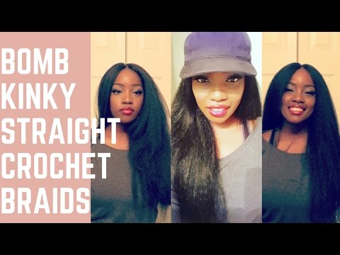 CROCHET|| INVISIBLE KNOT KINKY STRAIGHT