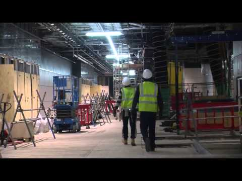 Inside Crossrail's Canary Wharf station