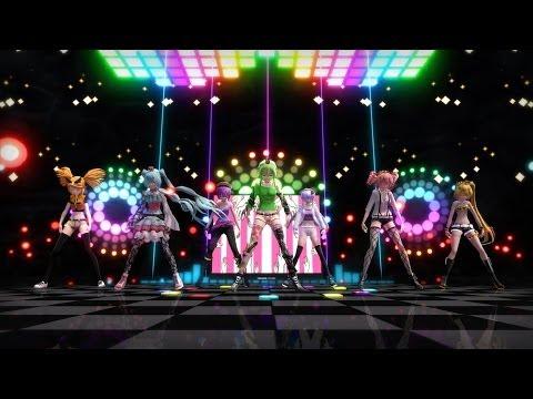 『MMD』Wonderful Nippon! ワンダホー・ニッポン ! Gumi, Miku,Rin, Teto, Neru, Defoko, Yukari