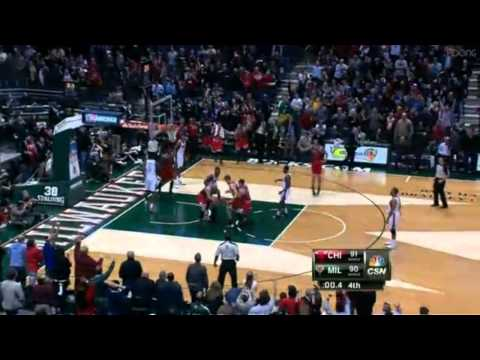 NBA Mike Dunleavy Game Winner 3-pointer vs Milwaukee Bucks