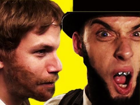 Abe Lincoln VS Chuck Norris Epic Rap Battles of History #3
