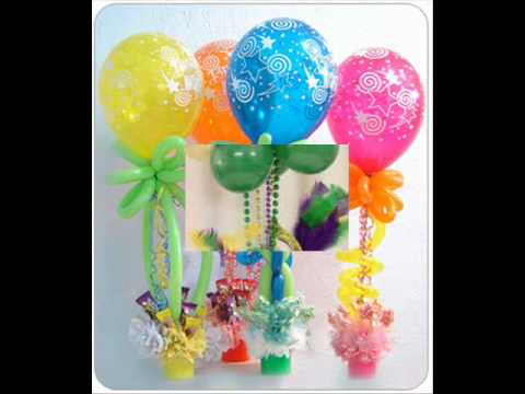 Do it yourself balloon decorations party favors ideas for Balloon decoration designs
