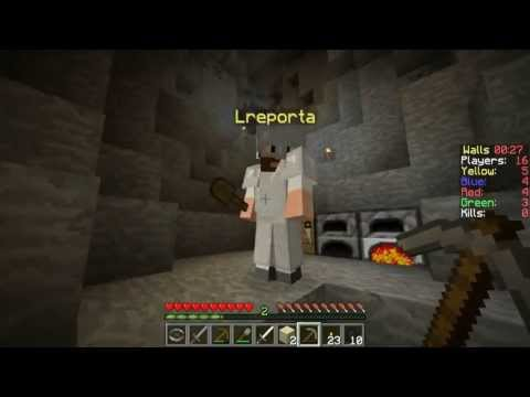Monark e Leon Defendendo O MURO! - Minecraft