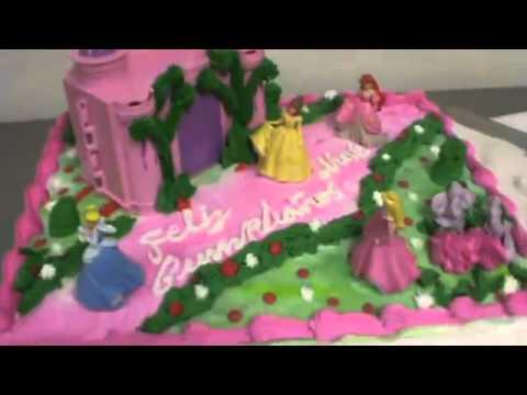Pastel De Castillo De Las Princesas