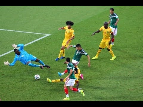 Mexico 1- 0 Cameroon   World Cup 2014