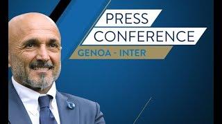 GENOA-INTER  | LIVE Conferenza stampa di Luciano Spalletti