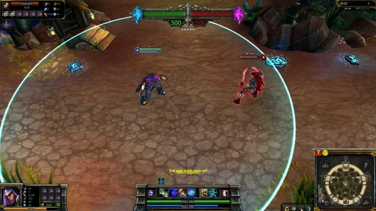 Renegade Talon League of Legends Skin Spotlight - YouTube