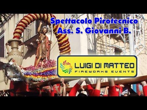 LUCCA SICULA (Ag) - PASQUA 2017 - LUIGI DI MATTEO FIREWORKS (3° Postazione)