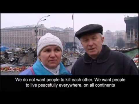 William Hague in Kiev as Ukrainians contemplate possible war with Russia