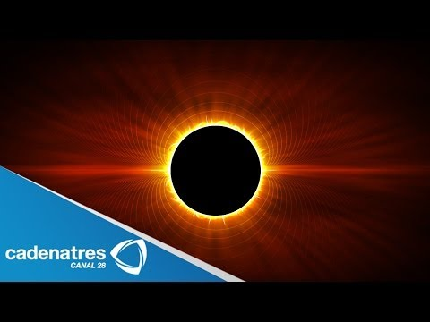 IMPRESIONANTES imágenes del eclipse solar / AWESOME images of solar eclipse