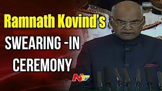 Ramnath Kovind Swearing in Ceremony Full Video