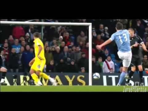 Aleksandar Kolarov Goal against Leicester City HD