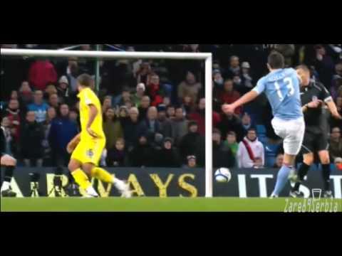 Aleksandar Kolarov Goal against Leicester City HD