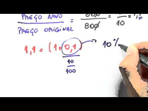 Me Salva! FIN06 - Matemática financeira: exercícios resolvidos envolvendo porcentagem 1