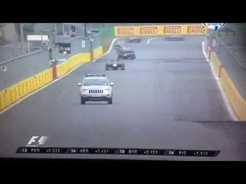 F1 KOREA 2013 Truck Safety Car Fail