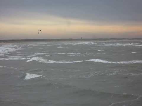 IJmuiden / Kitesurfen