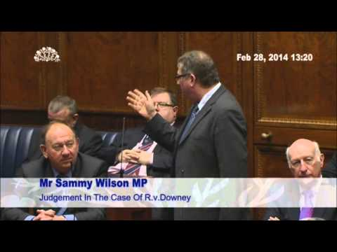 Sammy Wilson speech - OTR debate