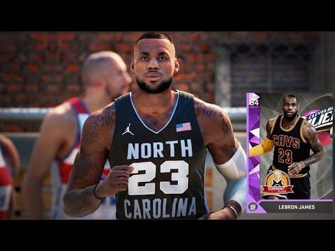 NBA 2k16 MyTeam Gauntlet Gameplay Ep. 3 - AMETHYST LeBron James Unstoppable!