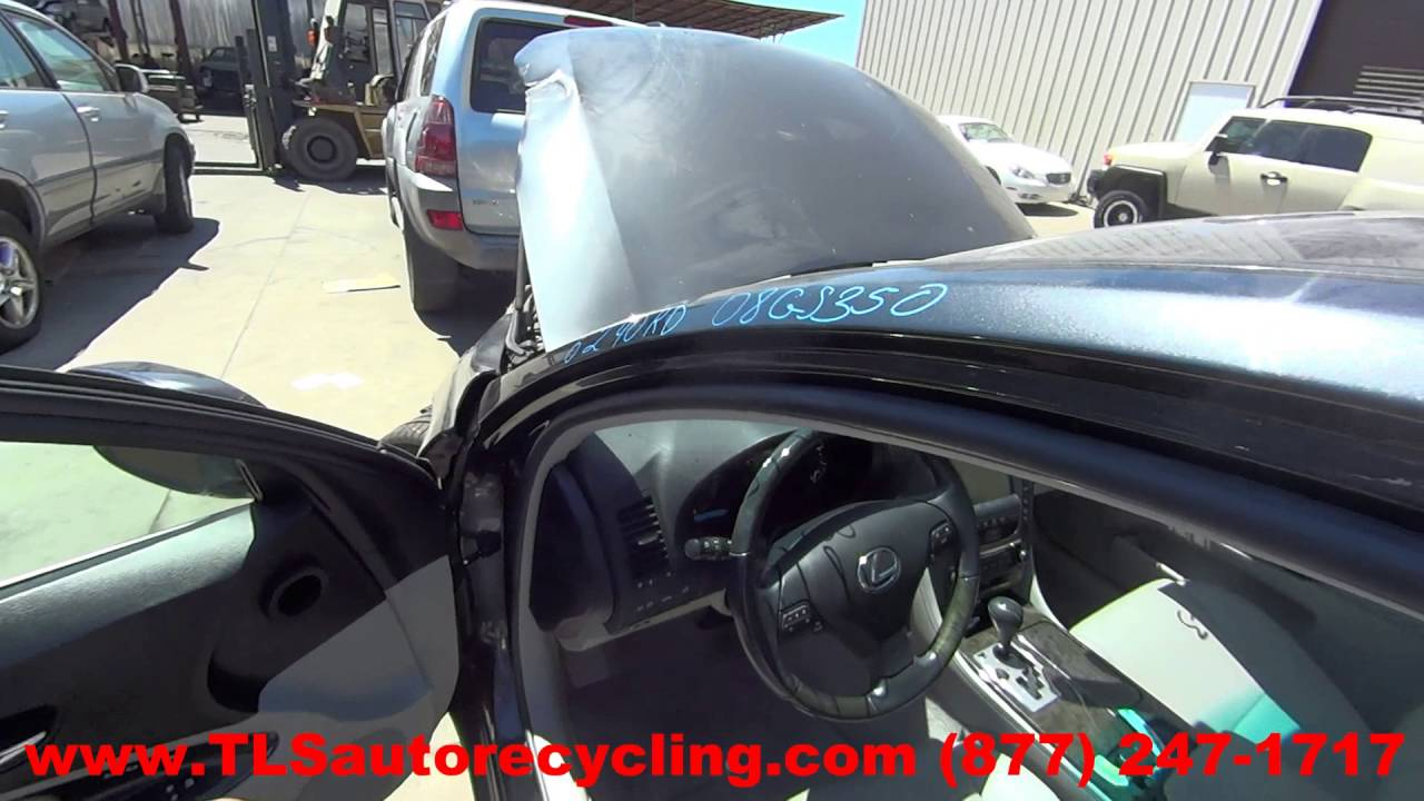 Parting Out 2008 Lexus Gs 350 Stock 6240rd Tls Auto Recycling Gs350 Fuse Box