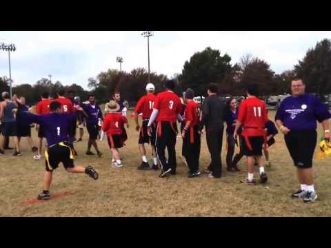 Special Olympics Unified Sports Flag Football Game - Alabama v. LSU