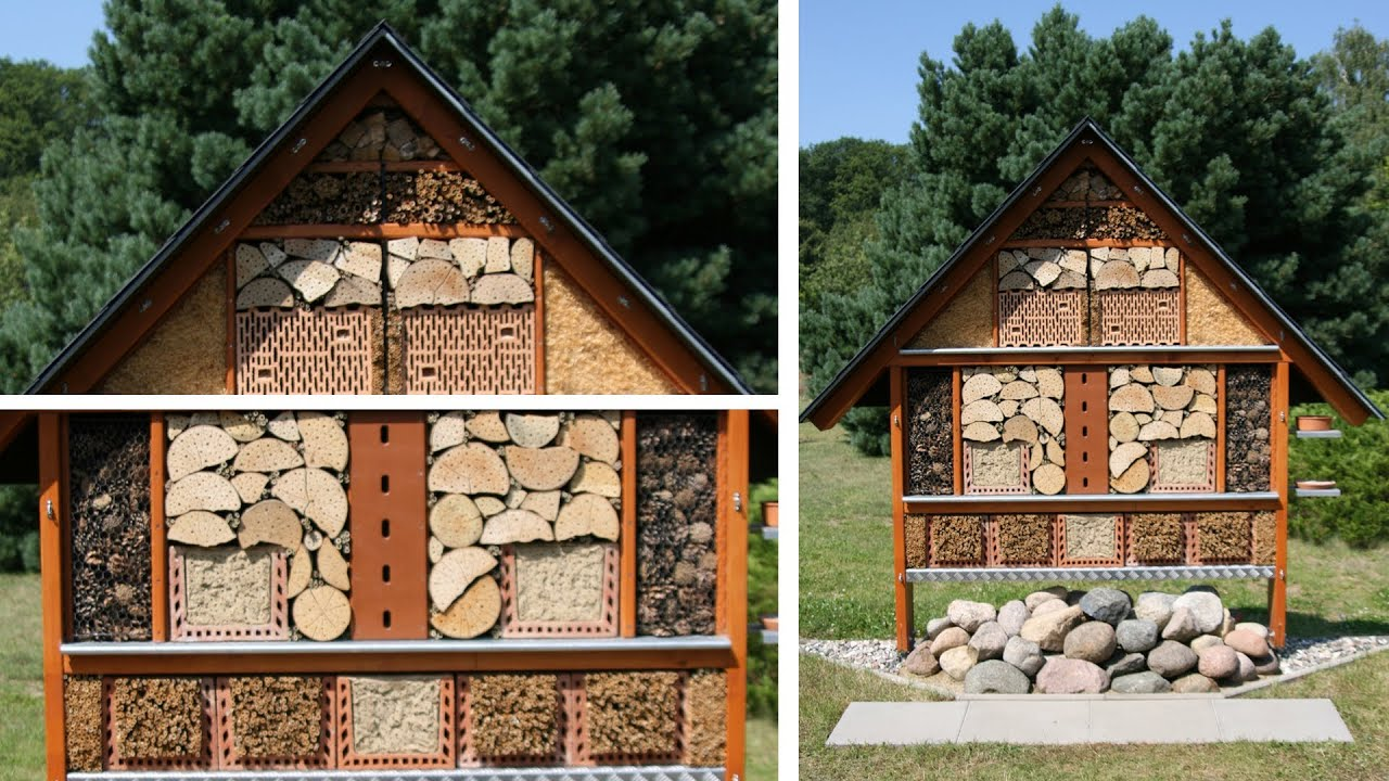 insekten hotel how to build a bug hotel garden activities for curious bauanleitung. Black Bedroom Furniture Sets. Home Design Ideas