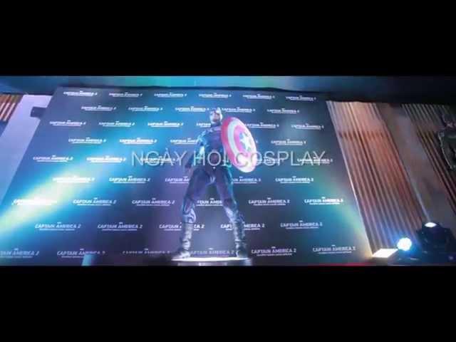Captain America: Chiến Binh Mùa Đông - Premiere Hà Nội