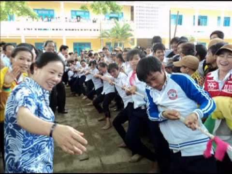 Sinh hoạt dân gian 26/3/2011 trường THCS Nguyễn Bá Loan