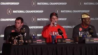 TigerNet.com - Dabo Swinney postgame press conference after winning National Championship