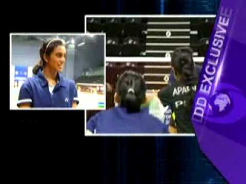 Interview with Arjuna awardee badminton player PV Sindhu