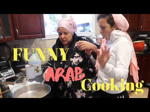 Cooking Egyptian Food | Funny Arab Cooking With Mama | Maisvault