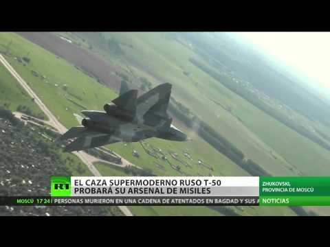 MAKS-2013: El primer piloto del T-50 explica qué se siente estar a los mandos del nuevo caza