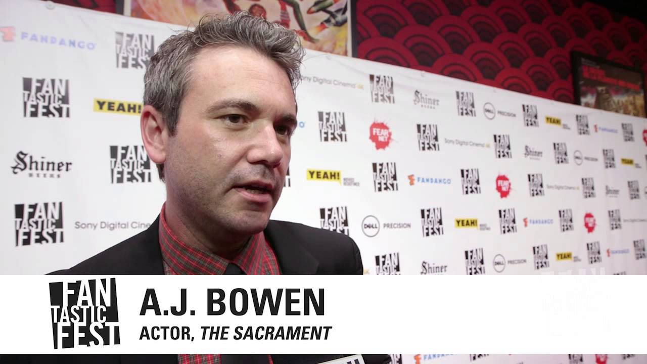 """The Sacrament"" US Premiere - AJ Bowen & Ti West Interview"