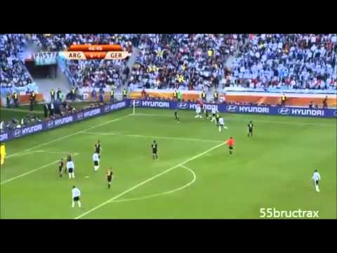 2010 Lionel Messi vs Germany - World Cup Quarterfinal