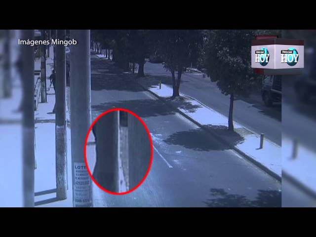 Cámara capta ataque con granada en la zona 18 capitalina