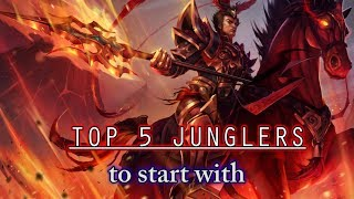 Top 5 Junglers to Start with - Part 4: Jarvan