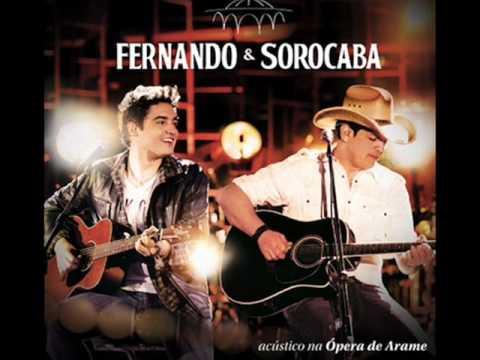 ( Nova ) - Fernando e Sorocaba - Nada faz Sentido - Acústico 2 - Ópera de Arame