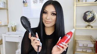 How to: Get Silky Straight Hair