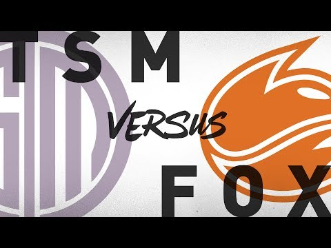TSM vs. FOX - Week 4 Day 2 | NA LCS Summer Split | TSM vs. Echo Fox (2018)